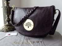 Mulberry Daria Satchel in Oxblood Soft Spongy Leather