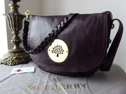 53738a228861 Mulberry Daria Satchel in Oxblood Soft Spongy Leather - SOLD