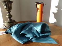Hermés Maxi Twilly Cavalcadour Jacquard in Teal 100% Silk Twill - New