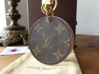 Louis Vuitton Mirror Bag Charm Key Holder in Monogram Rose Ballerine