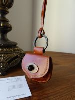 Mulberry Vintage Locked Mini Pouch in Oak Antique Glace Leather