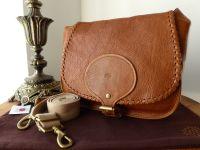 Mulberry Vintage Martha Messenger in Oak Darwin Leather