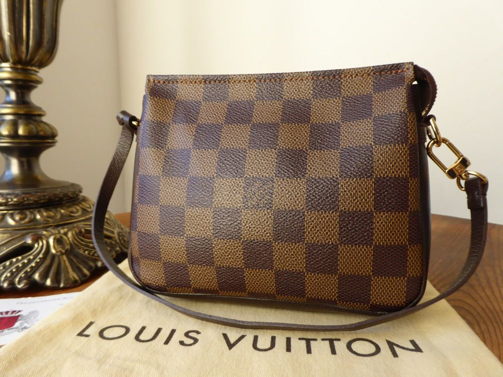 Louis Vuitton Trousse Pochette in Damier Ebene