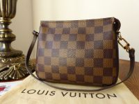 Louis Vuitton Trousse Pochette in Damier Ebene