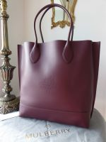 Mulberry Blossom Tote in Oxblood Calf Nappa - New