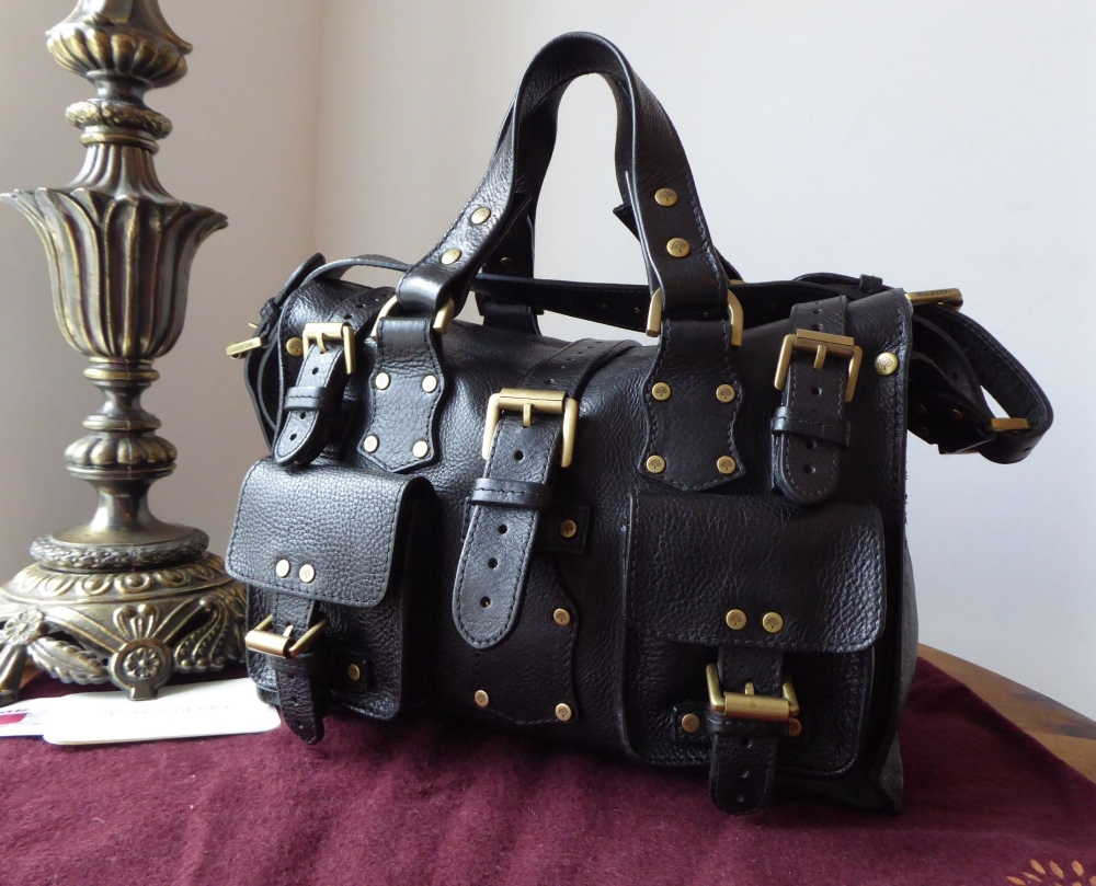 Mulberry Vintage Rosemary in Black Darwin Leather