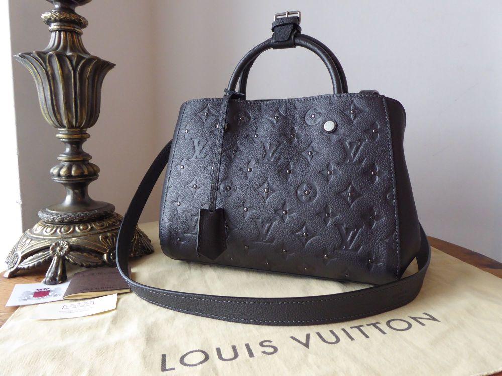 ee2ee3833193 Louis Vuitton Montaigne BB in Studded Monogram Platine Empreinte - New