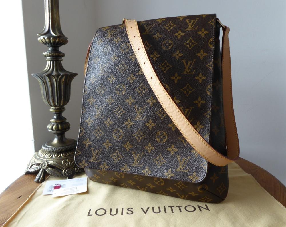 Louis Vuitton Musette GM Messenger Bag in Monogram