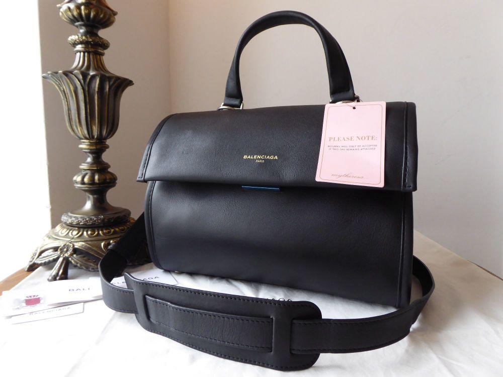 Balenciaga Tools Small Satchel in Black Calfskin - New*