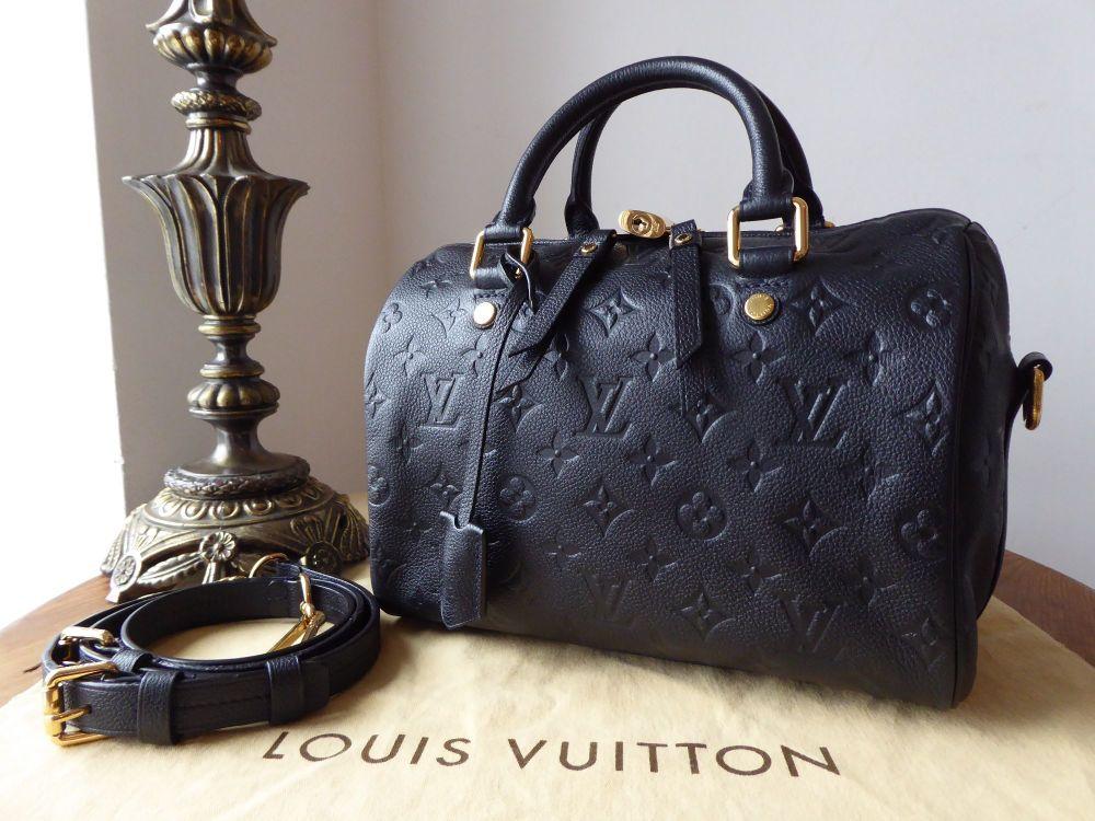 Louis Vuitton Speedy Bandoulière 25 in Monogram Empreinte Infini