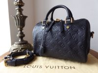 Louis Vuitton Speedy Bandoulière 25 in Monogram Empreinte Infini