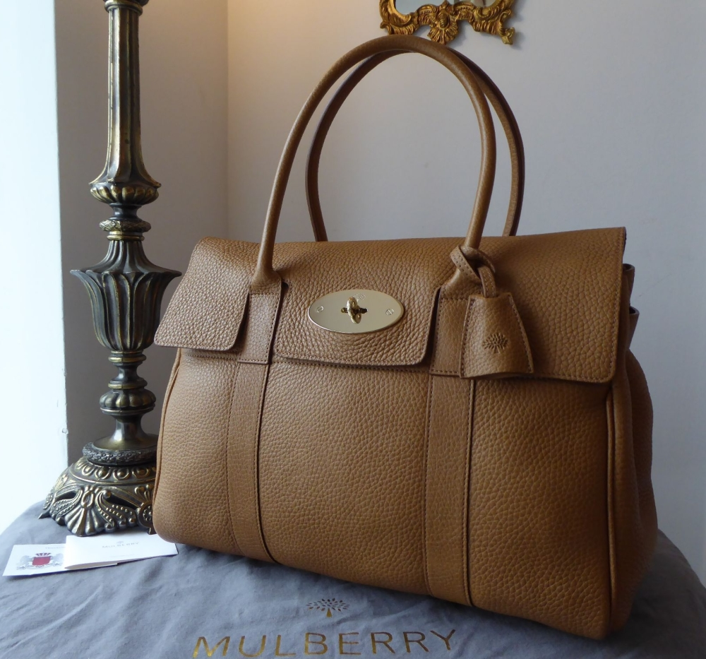 Mulberry Classic Bayswater in Deer Brown Soft Grain Leather