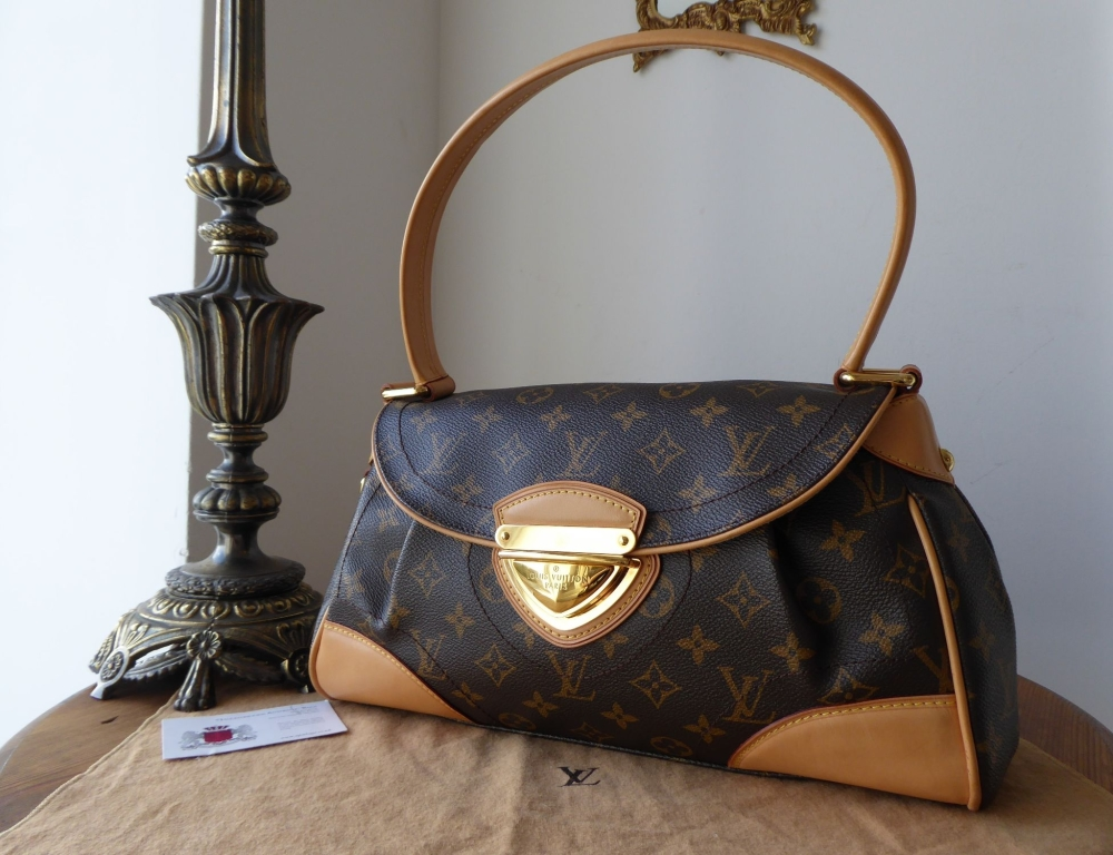 Louis Vuitton Beverly MM in Monogram Vachette