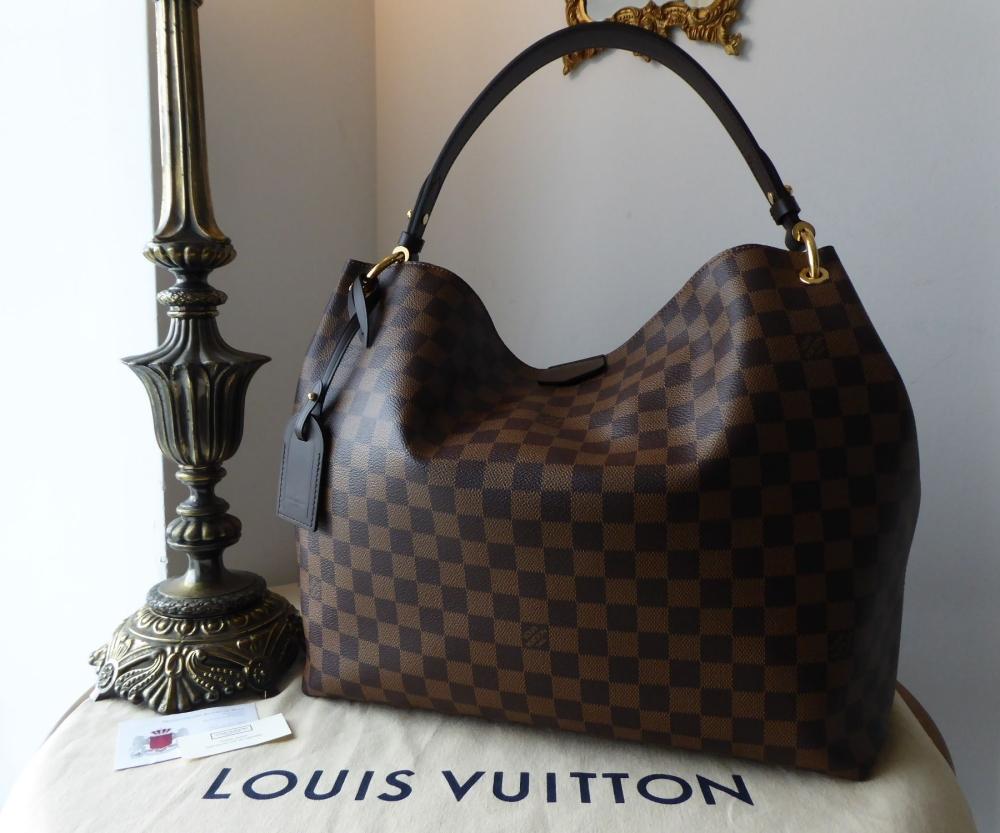 Louis Vuitton Graceful MM in Damier Ebene - As New