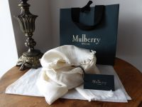 Mulberry Tree Rectangular Scarf in Ivory Cream Silk Cotton Mix