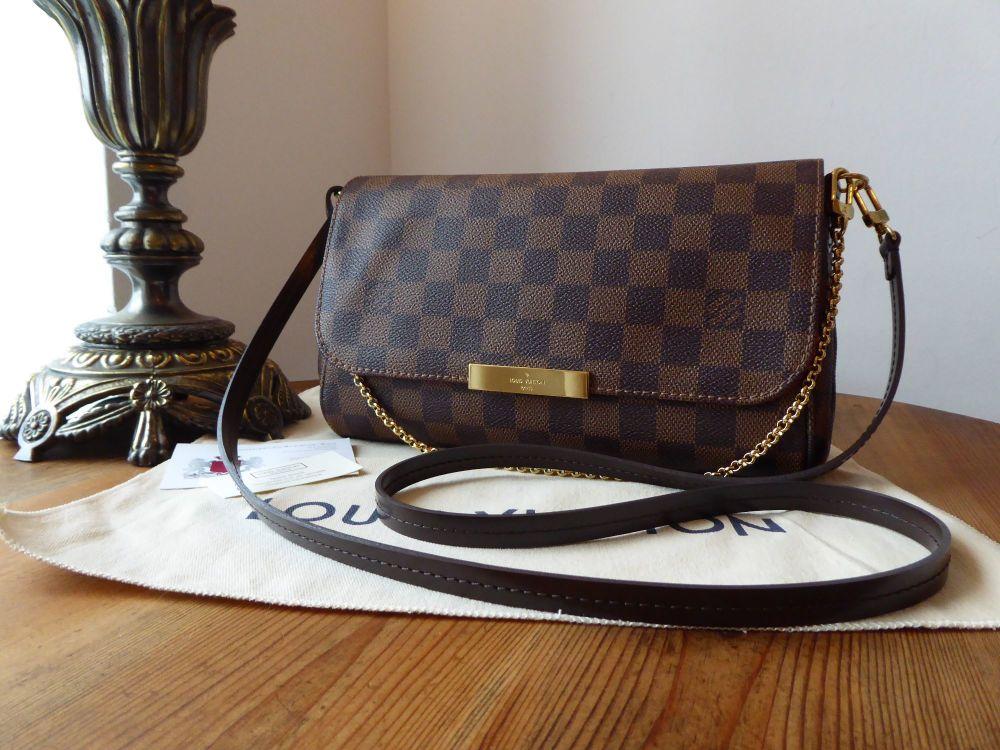 0b80a8b0aa66 Louis Vuitton Favorite MM in Damier Ebene - SOLD