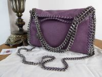 Stella McCartney Mini Falabella Tote in Ameythst - As New - SOLD
