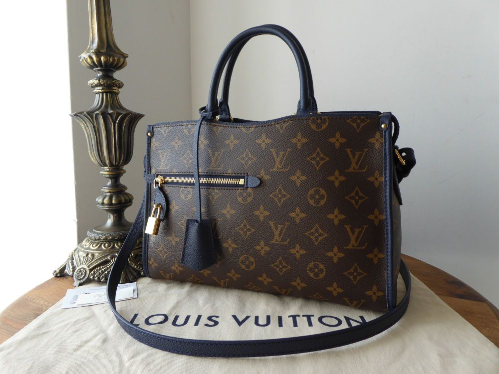Louis Vuitton Popincourt PM in Monogram Marine