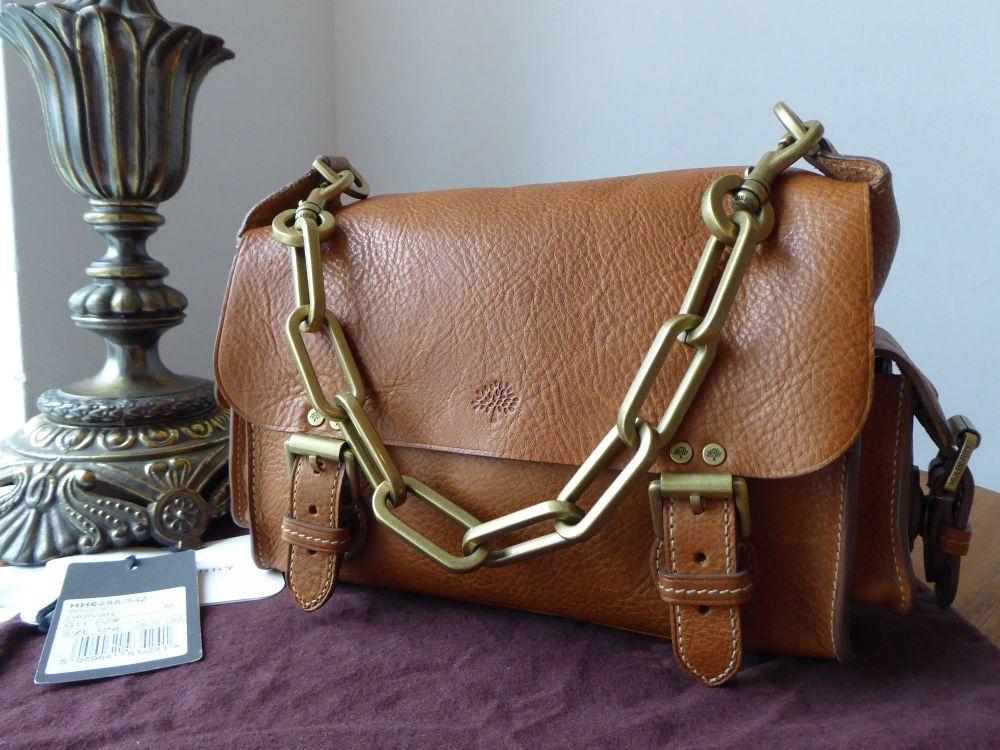 Mulberry Vintage Brooke Satchel in Oak Darwin Leather