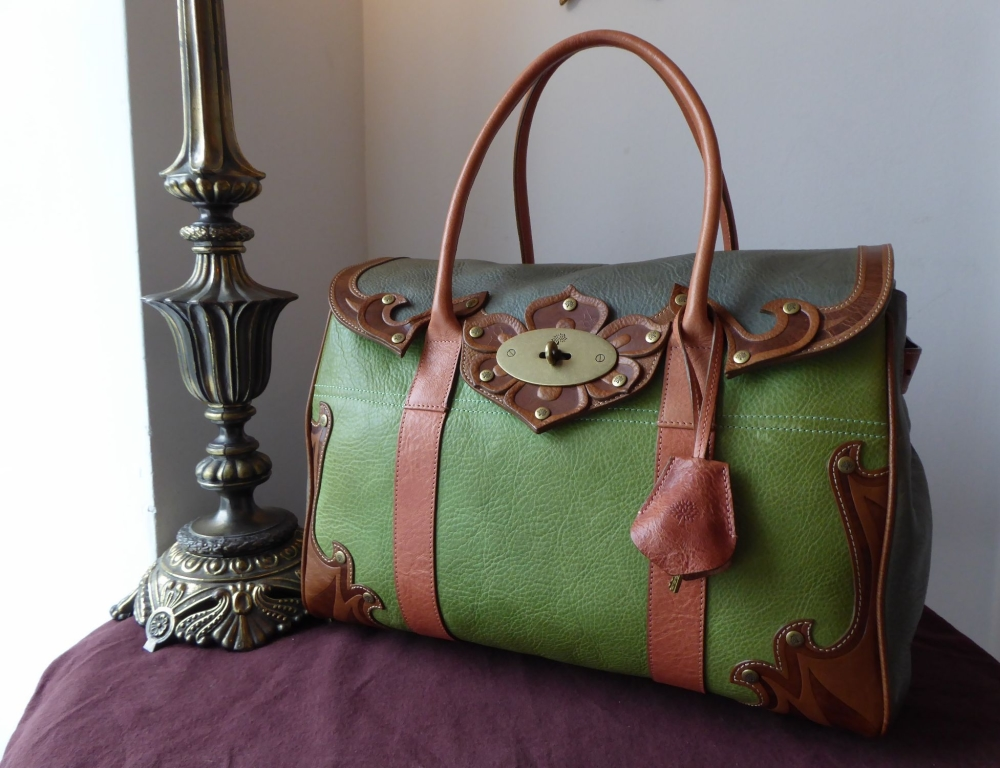 Mulberry Classic Multi Tooled Darwin Bayswater and Long Locked Purse