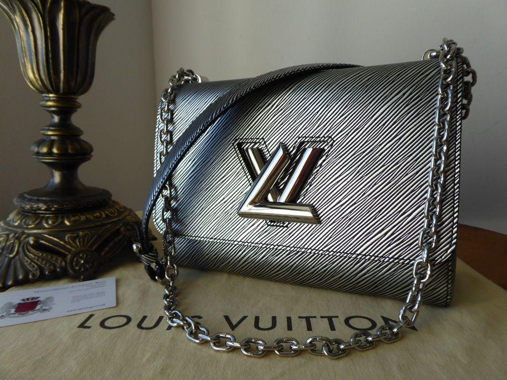 Louis Vuitton Twist MM in Epi Platine
