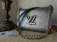 Louis Vuitton Twist MM in Epi Platine - SOLD