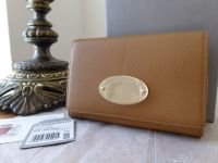 Mulberry French Purse in Deer Brown Smooth Matte Leather - New - SOLD