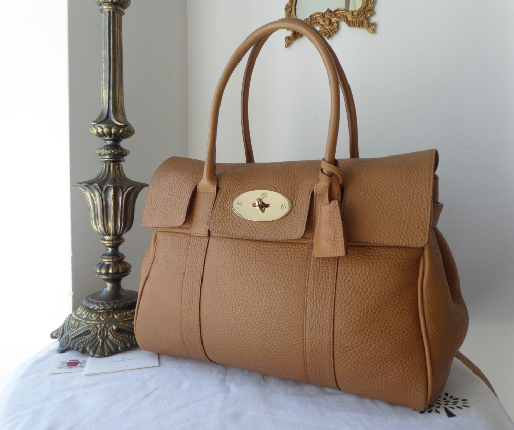Mulberry Classic Heritage Bayswater in Deer Brown Soft Grain Leather