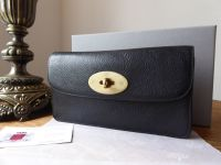Mulberry Classic Long Locked Purse in Black Natural Leather - New* - SOLD