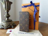 Louis Vuitton iPhone 7 8 Folio Case in Monogram - New