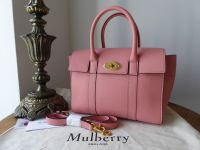 Mulberry Small New Bayswater in Macaroon Pink Small Classic Grain - SOLD