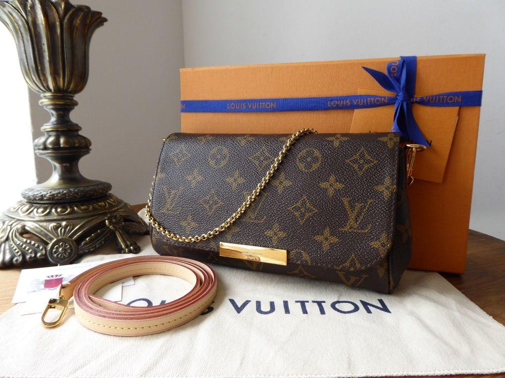 Louis Vuitton Favorite PM in Monogram Vachette