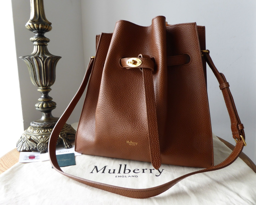 da36dbd4296f Mulberry Small Tynedale in Oak Small Grained Vegetable Tanned Leather - As  New - SOLD