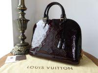 Louis Vuitton Alma PM in Amarante Monogram Vernis - SOLD
