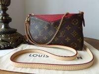 Louis Vuitton Pallas Clutch Monogram Cherry - SOLD