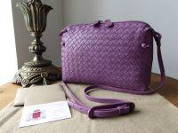 Bottega Veneta Nodini Medium Crossbody Shoulder Bag in Corot Intrecciato Nappa - As New