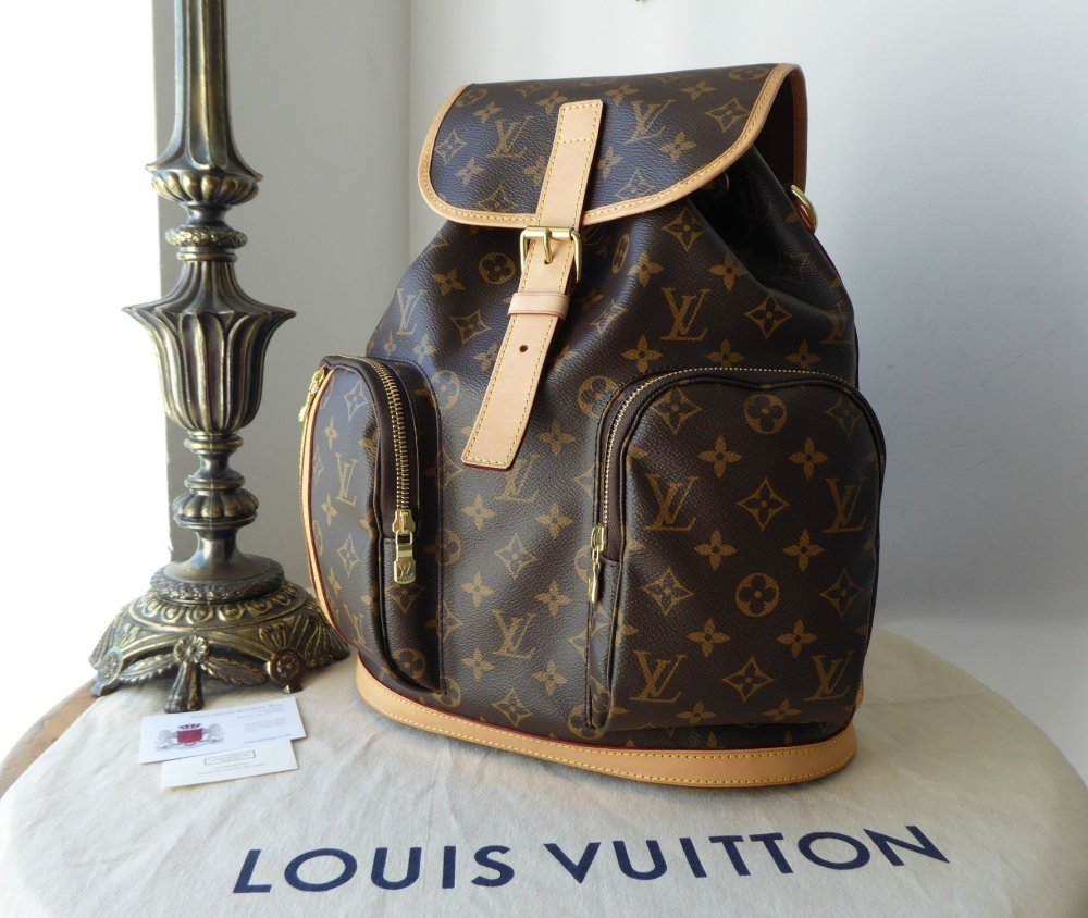 Louis Vuitton Sac a Dos Bosphore Backpack in Monogram Vachette