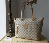 Louis Vuitton Iena MM in Damier Azur with Rose Ballerine Lining - As New - SOLD