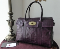 Mulberry Classic Bayswater Special in Violet Congo Leather