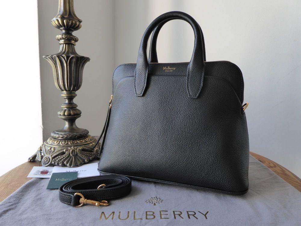 Mulberry Small Colville in Black Small Classic Grain Leather - New