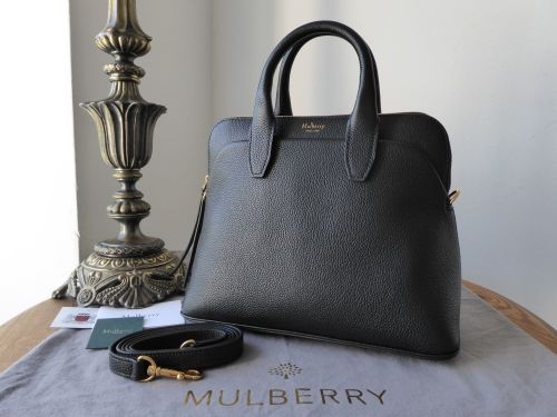 Mulberry Small Colville in Black Small Classic Grain Leather - SOLD a58beabd07
