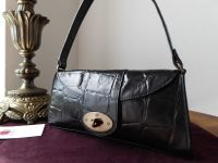 Mulberry Vintage Zinia in Black Congo Leather with Bronze Hardware - SOLD