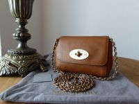 Mulberry Mini Lily in Oak Natural Leather - SOLD