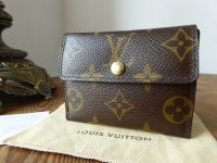 Louis Vuitton Ludlow Compact Purse Wallet in Monogram - SOLD