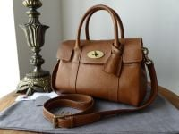 Mulberry Classic Small Bayswater Satchel in Oak Natural Leather - SOLD