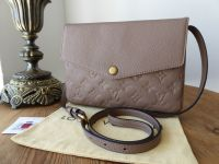 Louis Vuitton Twice Twinset in Taupe Empriente - SOLD