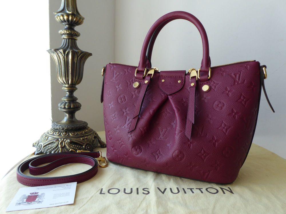 Louis Vuitton Mazerine PM in Raisin Empreinte