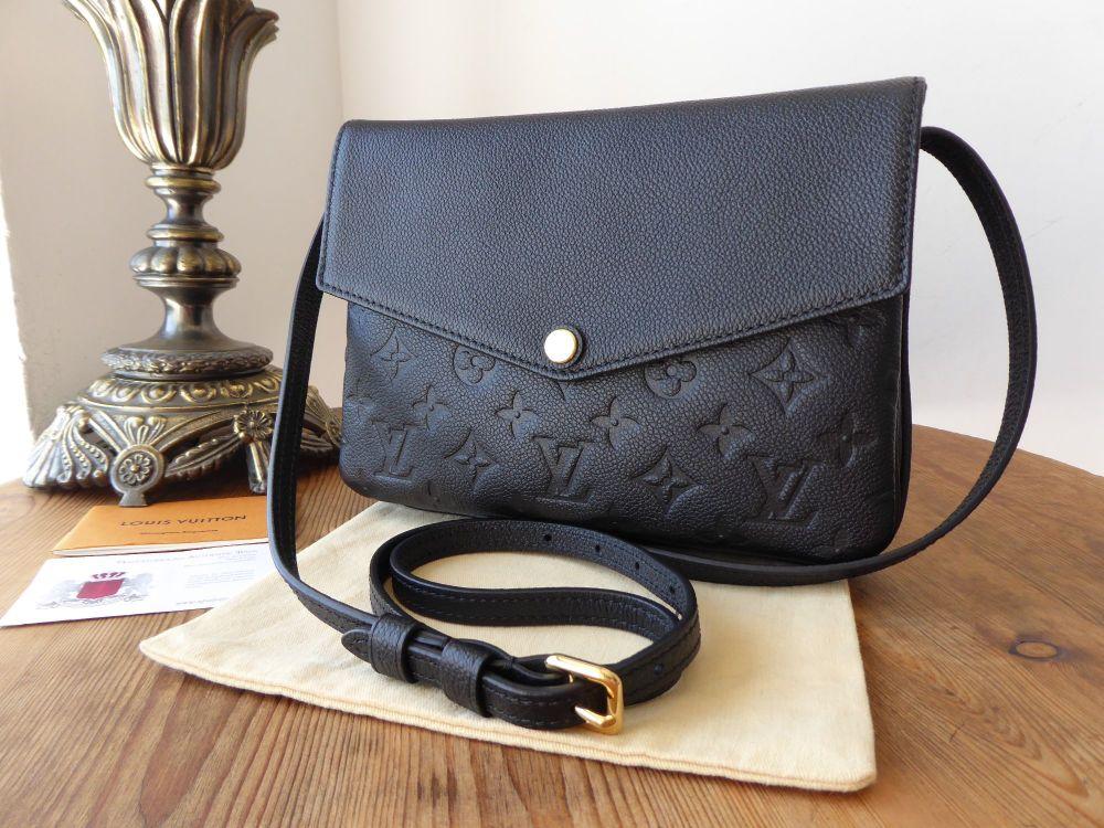 Louis Vuitton Twice Twinset in Noir Empriente