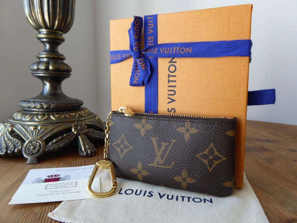 Louis Vuitton Key Porte-Cles Zip Pouch in Monogram