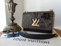 Louis Vuitton Twist MM in Monogram Blossom Noir - SOLD